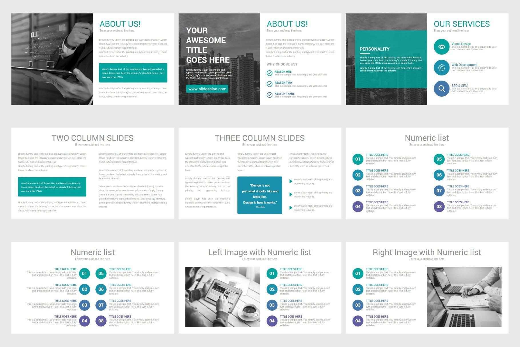 Business Proposal Keynote Template Keynote Template Business Proposal Education Icon