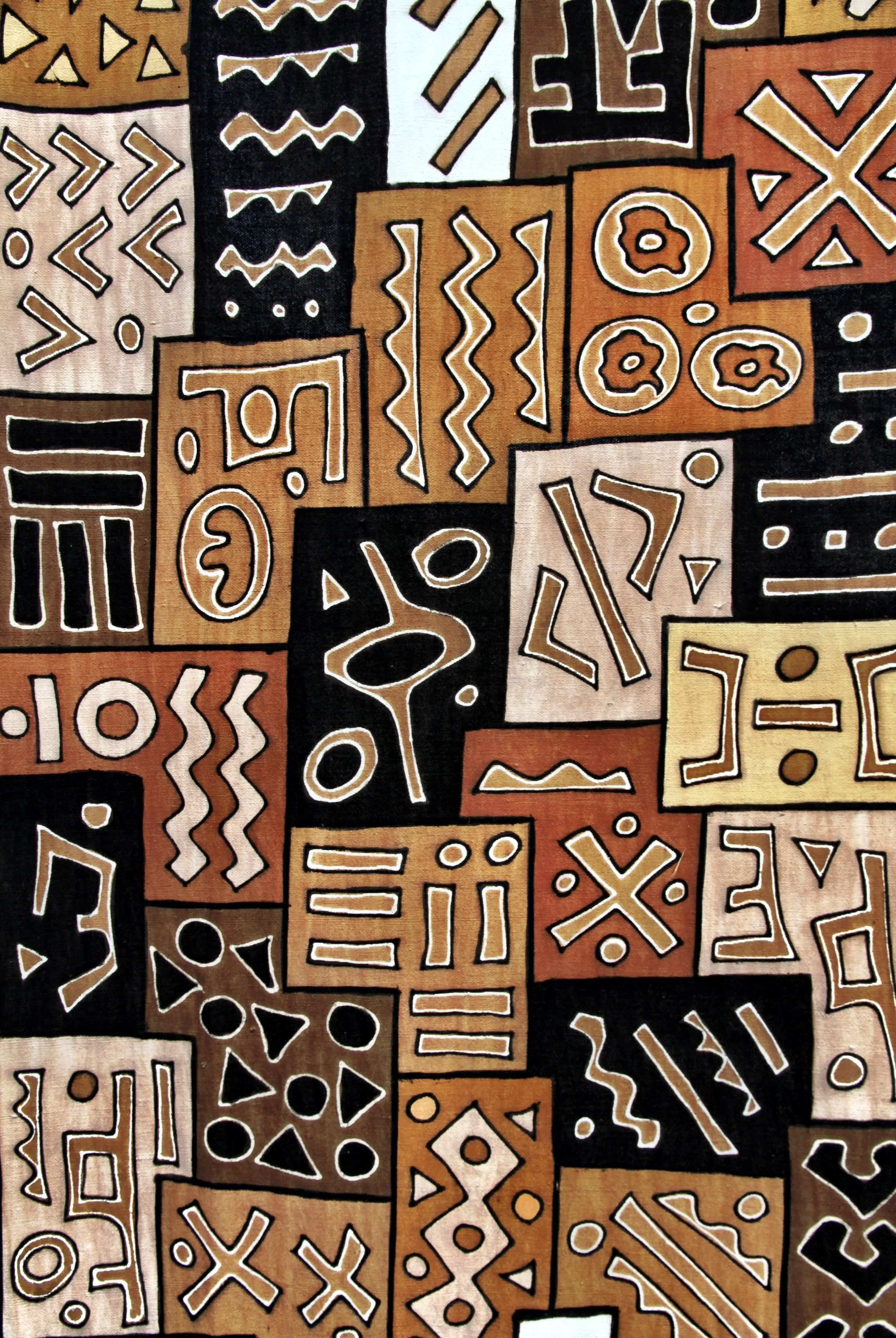 Bogolan Mali Boubacar Doumbia Oogenlust Stichting Djenne African Art African Pattern Pattern Art