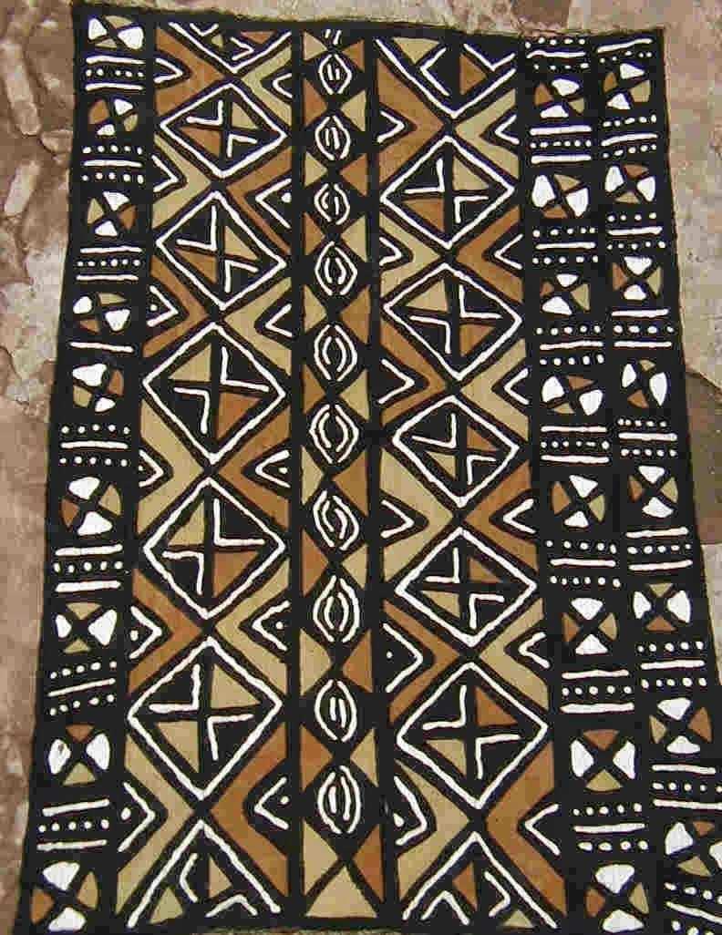 Fibertiger Mud Cloth Afrikanische Muster Afrikanische Stoffe Ethnische Muster