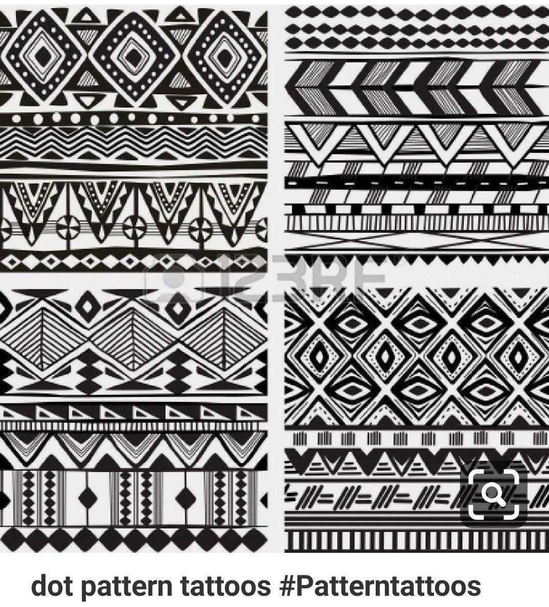 Pin By Temis Hernandez On Pattern Play Tribal Pattern Tattoos African Tribal Tattoos Pattern Tattoo