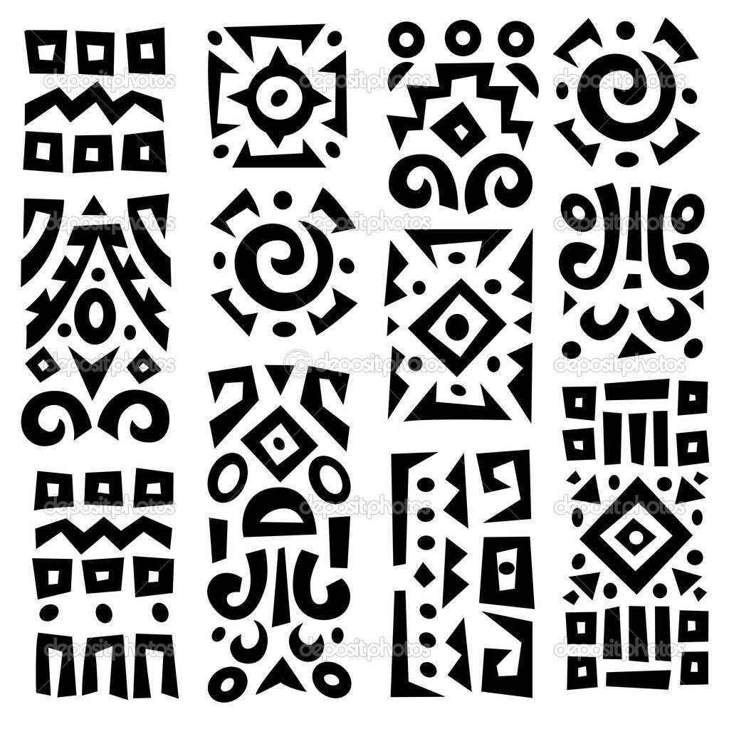 Etnicheskie Simvoly Vektor 15 Tys Izobrazhenij Najdeno V Yandeks Kartinkah Arte Primitiva Azulejos Pretos E Brancos Arte Folclorica