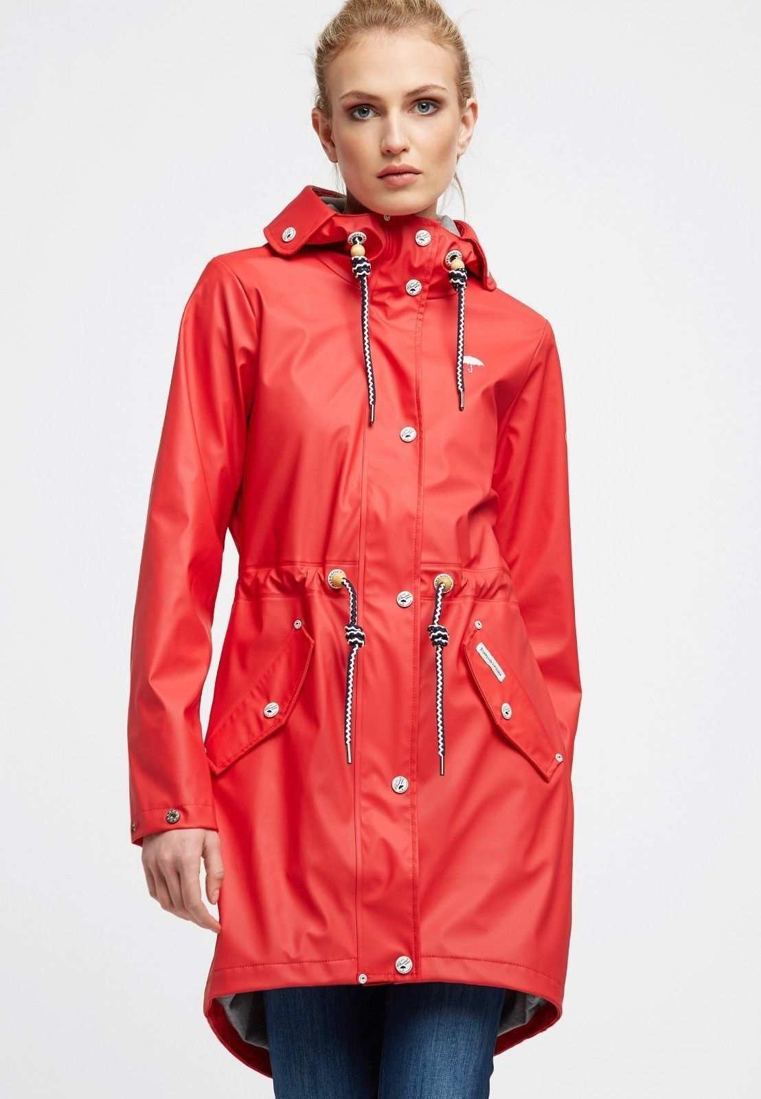 Pin Von Rainwear Servant Auf Rote Regenbekleidung Schmuddelwedda Damen Regen Mode Regenmantel