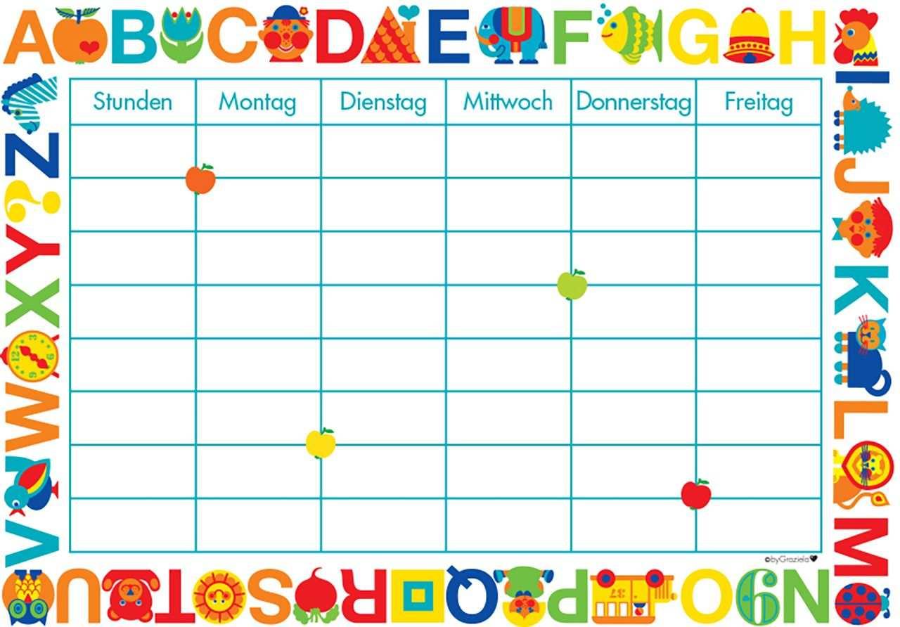 Freebie Stundenplan Zum Ausdrucken Kostenlos Stundenplan Ausdrucken Stundenplan Schulsachen