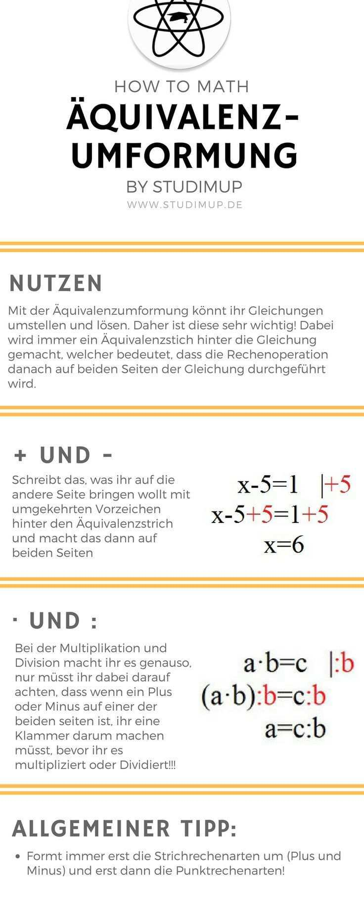 The Equivalence Transformation Is Easily Explained And Illustrated Learning Math Is Not That Hard With Example How To Mat Mathematik Lernen Mathe Mathematik