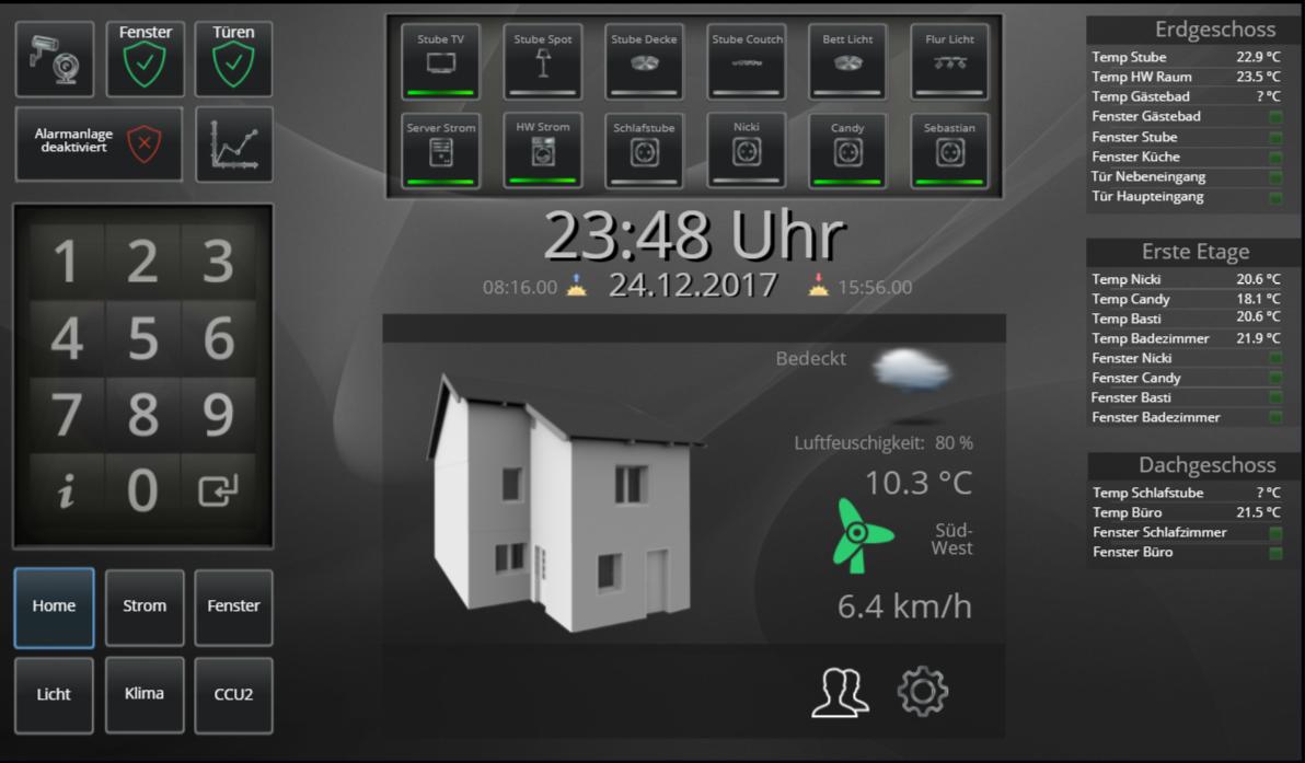 Index Digital Eliteboard Intelligente Haustechnik Hausautomation Haustechnik