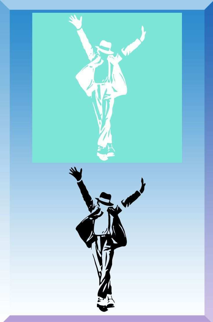 Airbrush Schablone Michael Jackson 10 Schablonen Airbrush Schablonen Michael Jackson