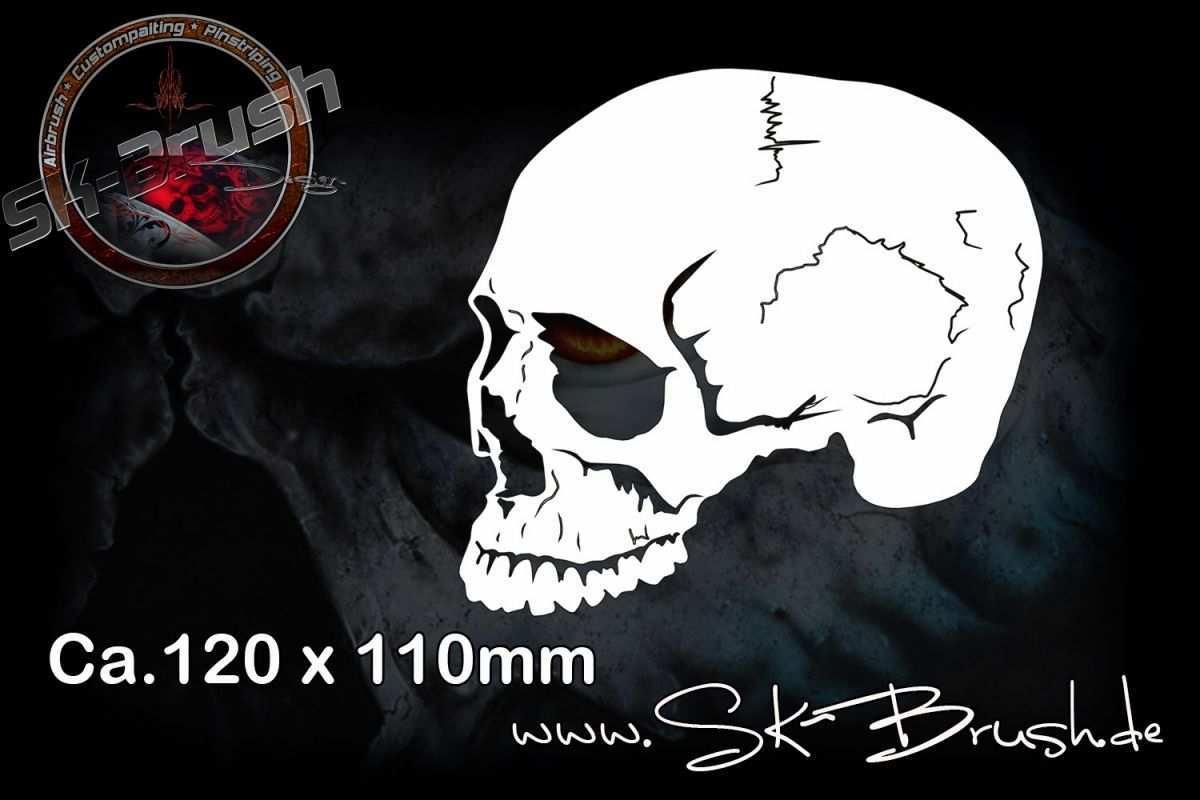 Airbrush Schablone Fur Schadel Totenkopfe Skull S Airbrush Schablonen Airbrush Schablonen