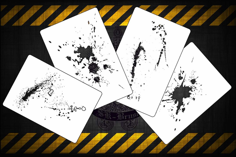 Airbrush Schablonen 4er Fx Splash Schablonen Set Airbrush Schablonen Airbrush Schablonen
