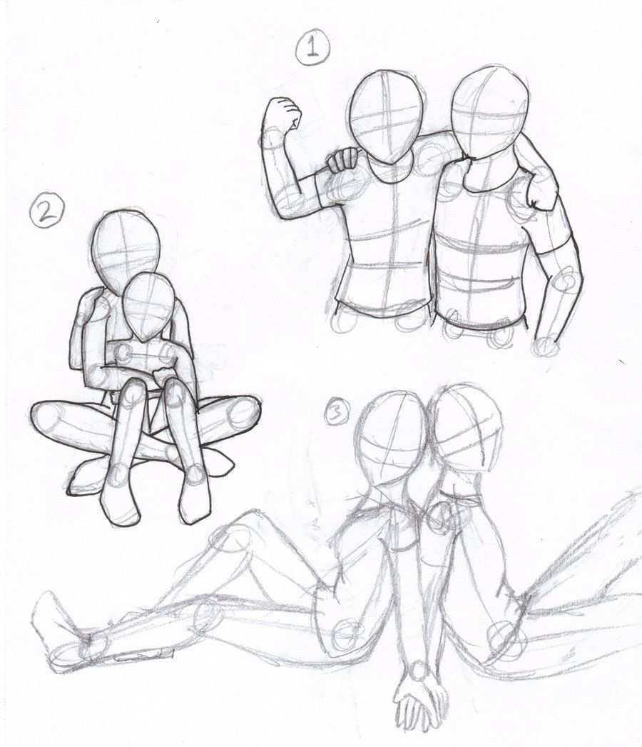 People Poses By Paradox Rose On Deviantart Drawing People Drawings Drawings Of Friends