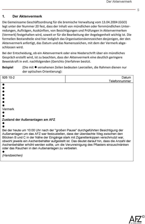 Schriftgut Im Bremischen Offentlichen Dienst Schriftgut Gemeinsame Geschaftsordnung Fur Die Bremische Verwaltung Vom Pdf Free Download