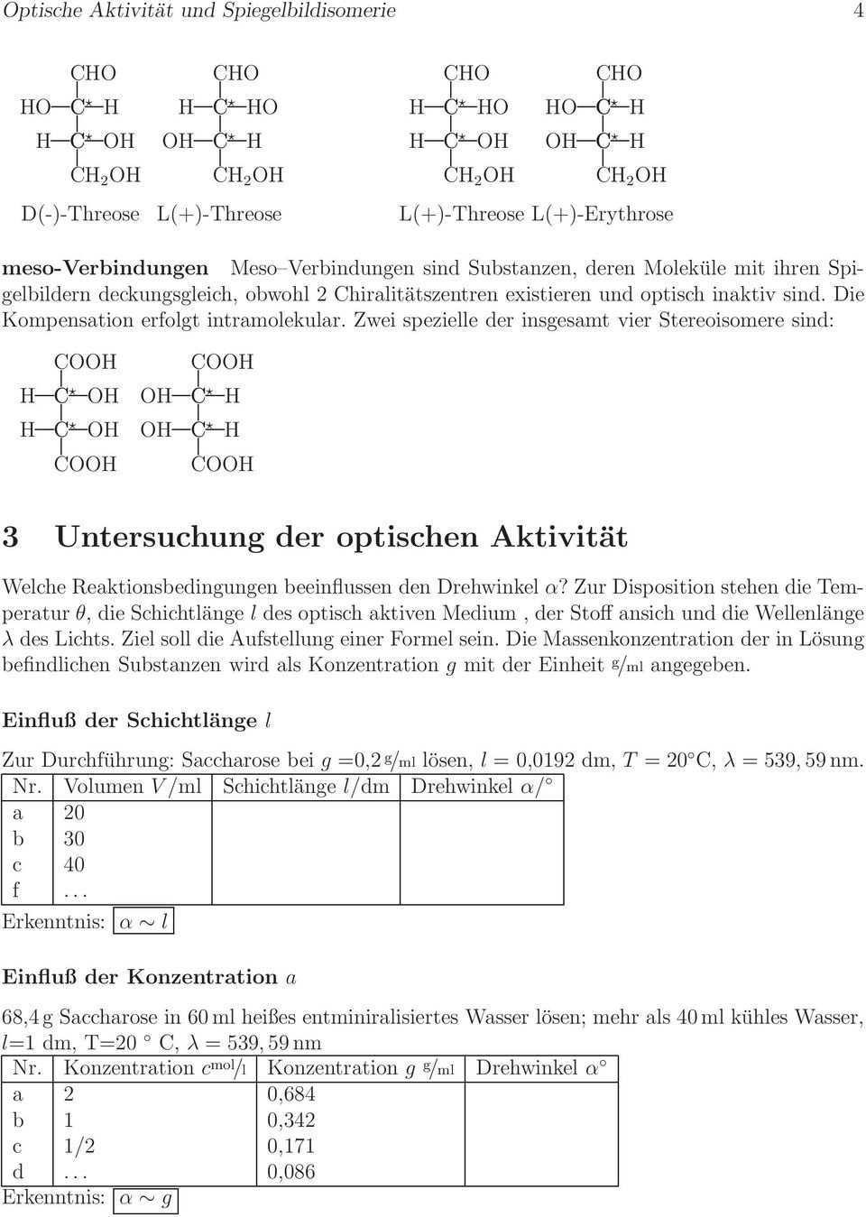 Optische Aktivitat Und Spiegelbildisomerie Pdf Kostenfreier Download