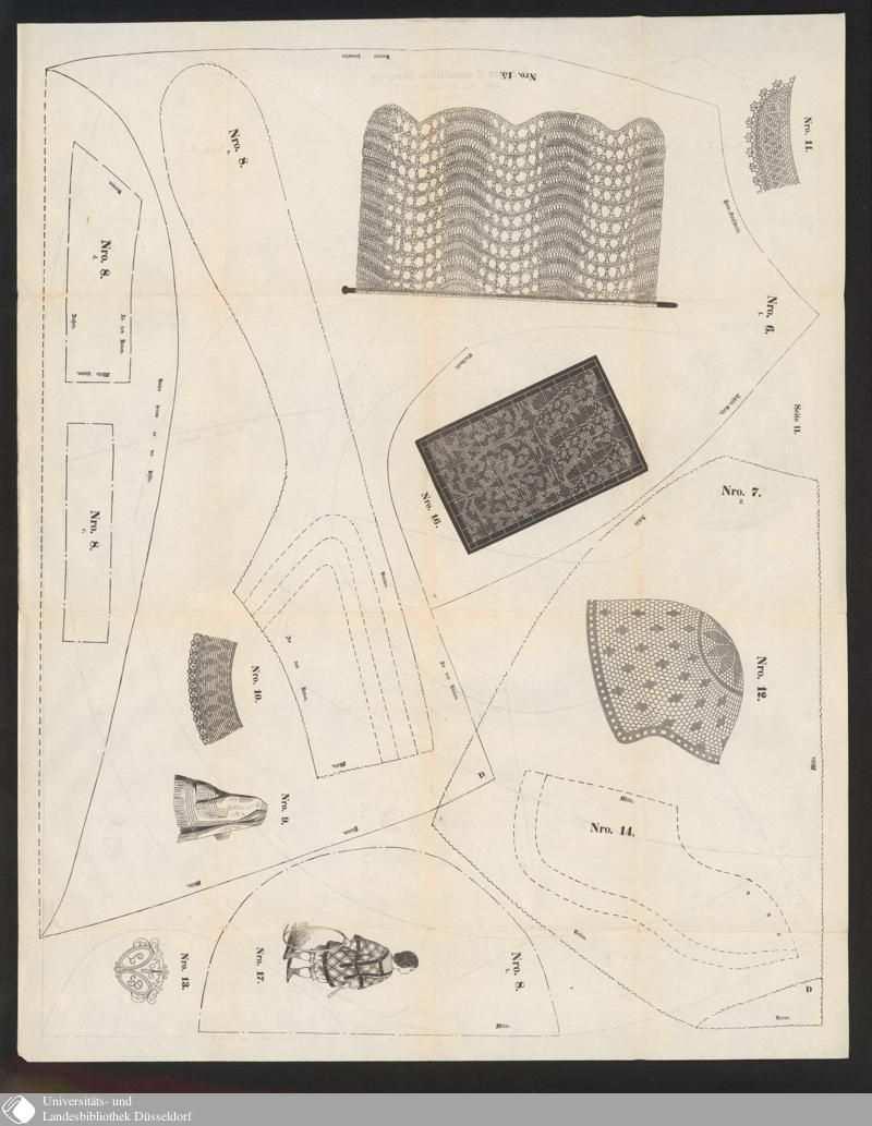 Pin Von Adriana Auf Antique Patterns Schnittmuster Schnittchen Muster
