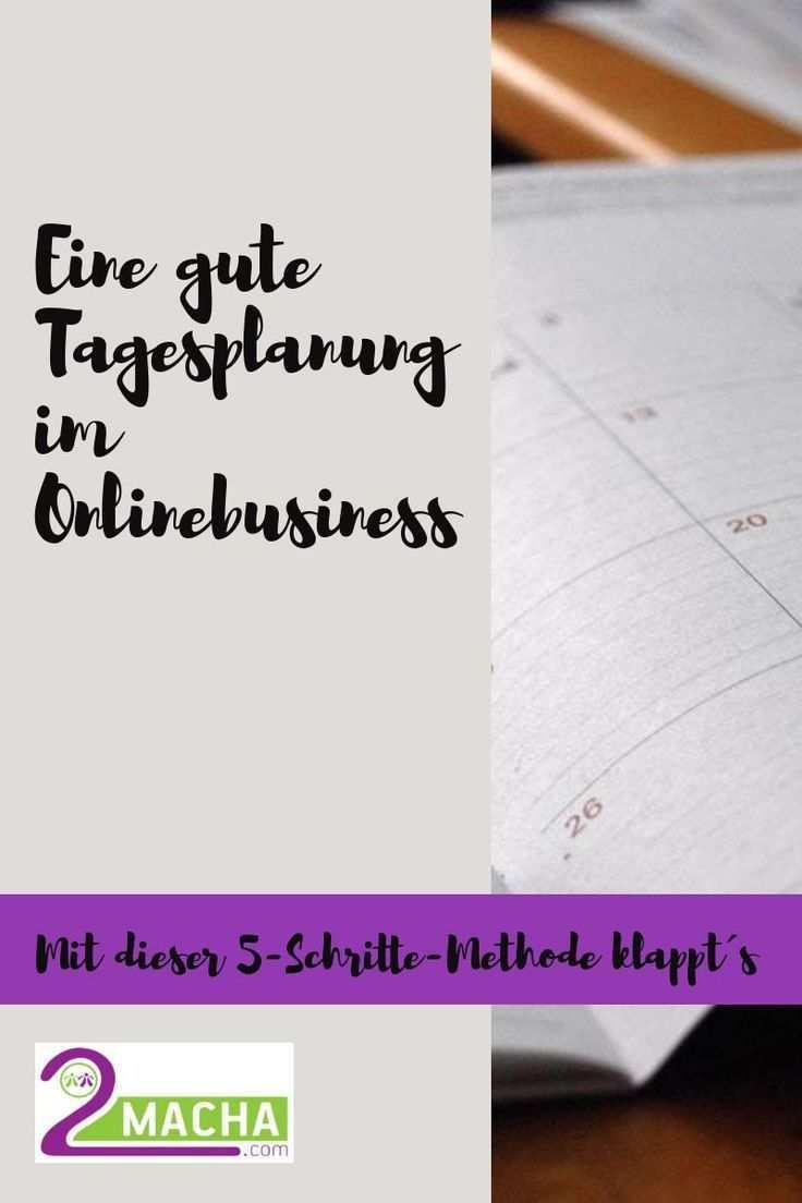 Gute Tagesplanung Fur Deine Online Projekte Mit Der Alpen Methode Zeitmanagement Motivation Online Marketing
