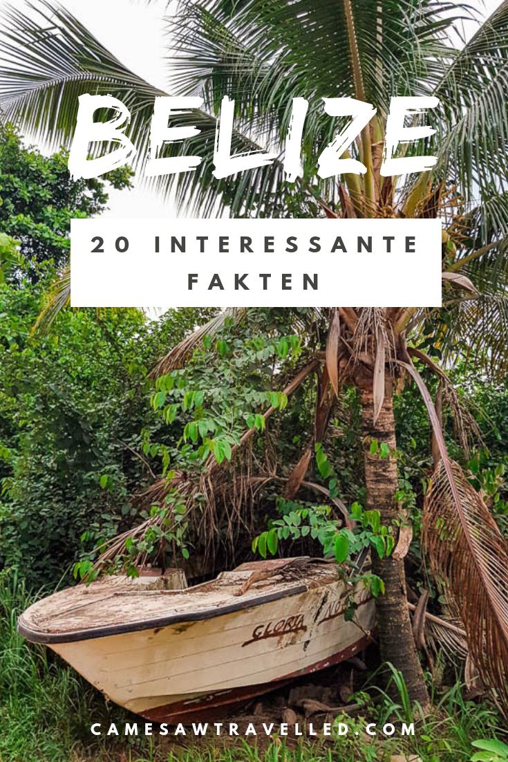 Belize Das Karibische Traumland In Dem Englisch Statt Spanisch Gesprochen Wird Am Blog Erfahrt Ihr 20 Interessante Fak Belize Reiseblog Interessante Fakten