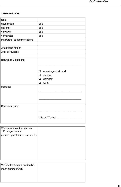 Anamnesebogen Fur Eine Ganzheitliche Zahnartzliche Untersuchung Dr Eva C Meierhofer Zahnarzt Pdf Kostenfreier Download