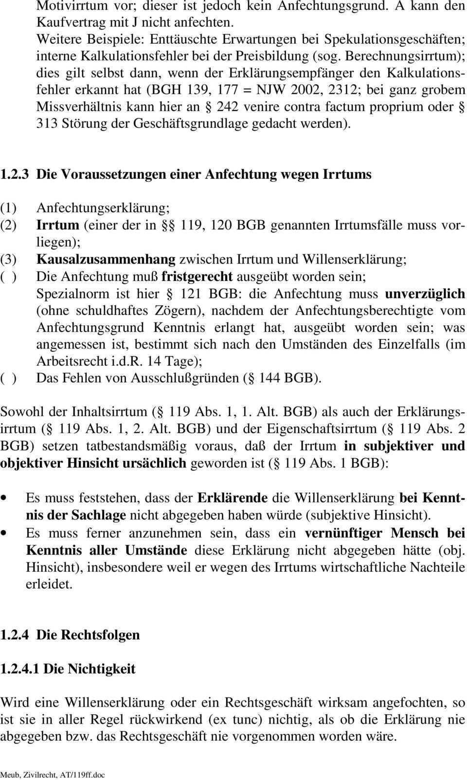 11 Anfechtung Einer Willenserklarung Irrtum Arglist Verstoss Gegen Ein Gesetzliches Verbot Sittenwidrigkeit Und Nichtigkeit Pdf Kostenfreier Download