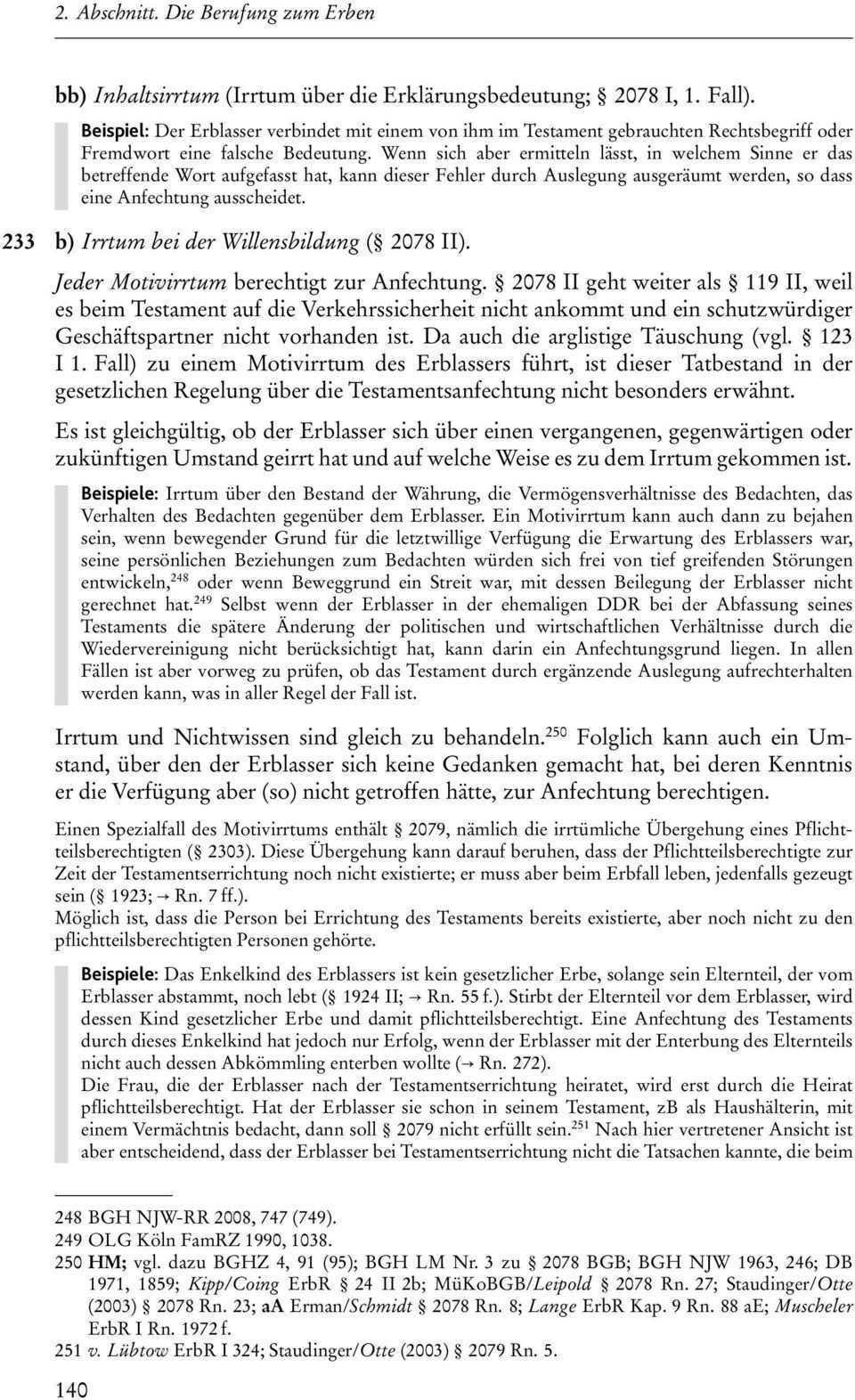A Allgemeines Zur Anfechtung B Testamentsanfechtung Pdf Kostenfreier Download