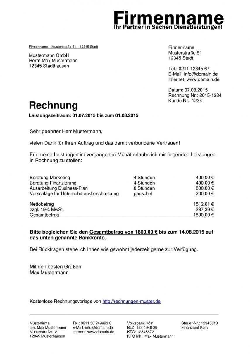 Blattern Unsere Das Sample Von Vorlage Rechnung Vermietung Ferienwohnung Rechnung Vorlage Rechnungsvorlage Vorlagen Word