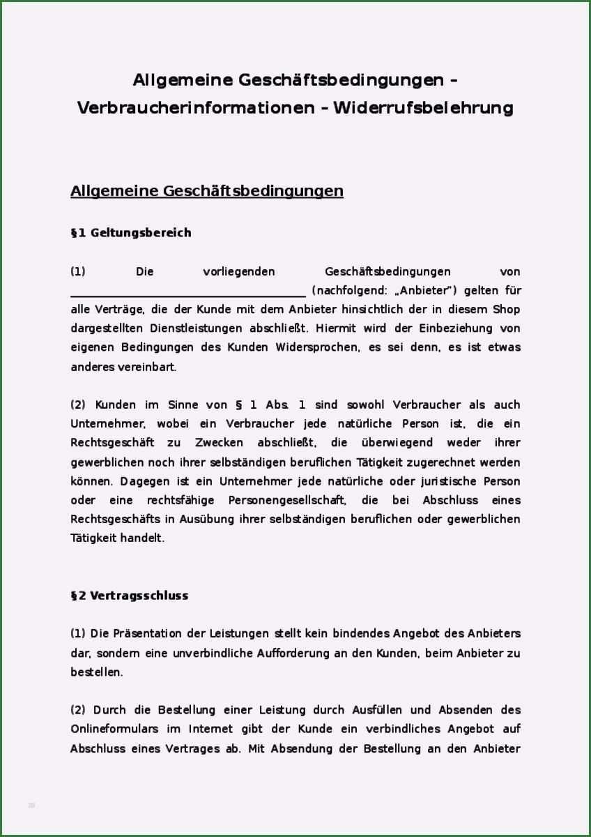 30 Schonste Agb Vorlage Dienstleistung Abbildung Briefkopf Vorlage Vorlagen Excel Vorlage