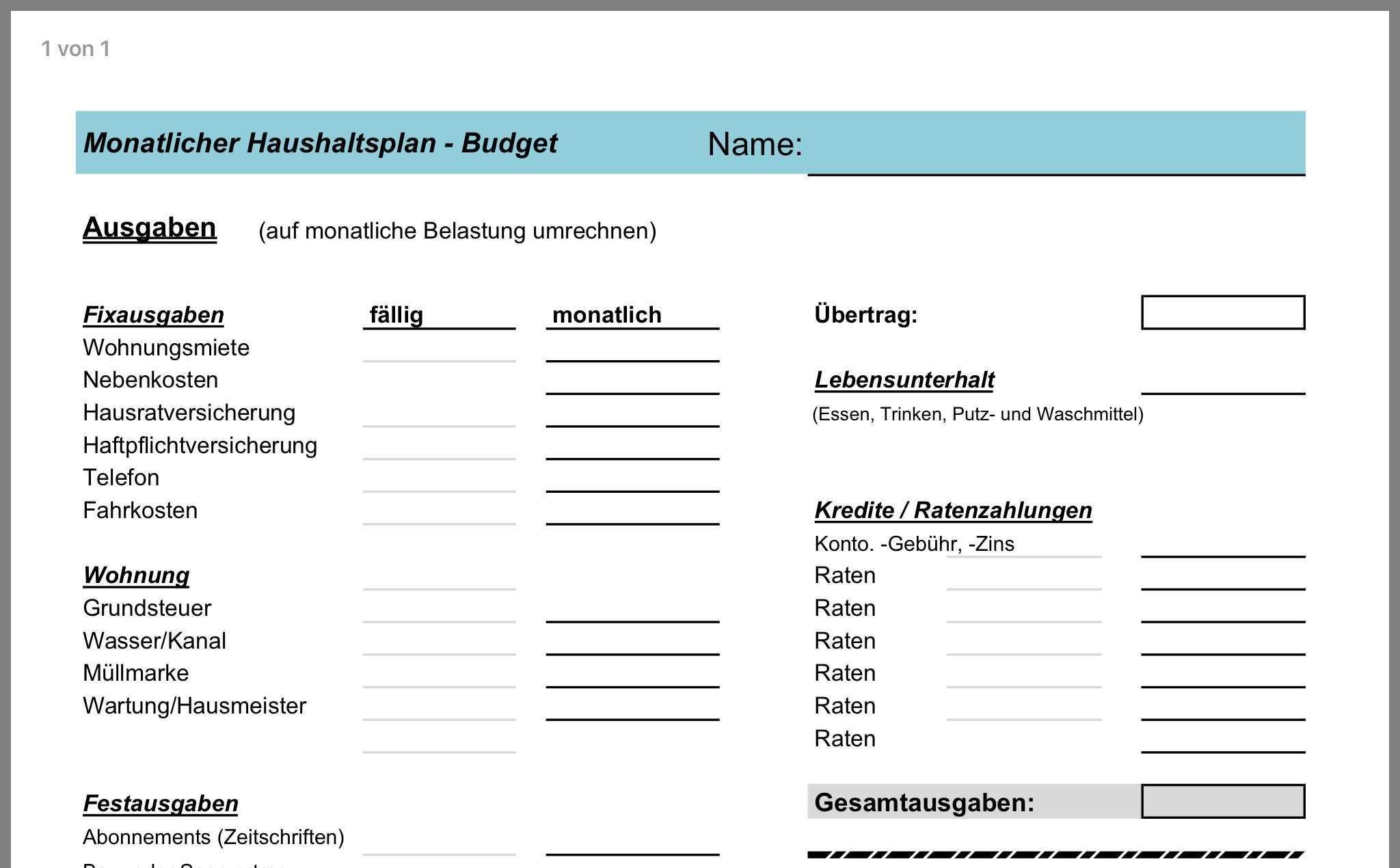 Pin Von Ingrid Barth Auf Ingrid Haushaltsplaner Hausratversicherung Haftpflichtversicherung