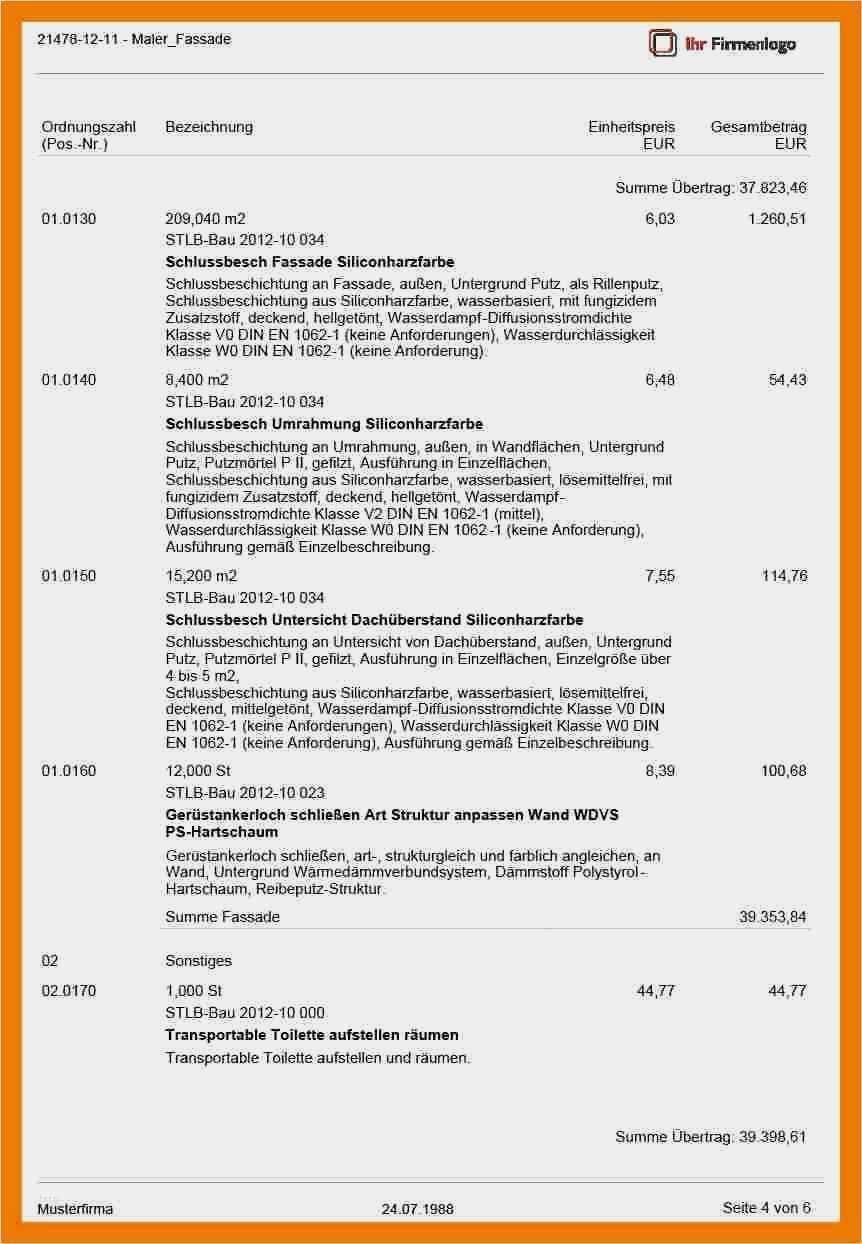 38 Erstaunlich Angebot Malerarbeiten Vorlage Foto In 2020 Vorlagen Deckblatt Vorlage Anschreiben Vorlage