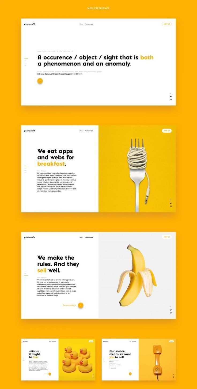Unique Website Layout Web Design In 2020 Web Design Branding Design Webdesign Angebote