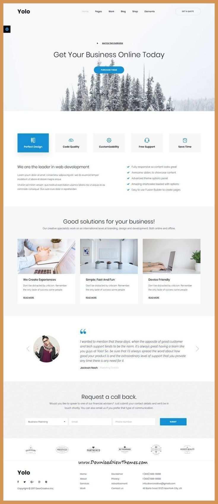 Responsive Web Design Boostrap Yolo Ist Ein Sauberes Und Modernes Design Responsive Multipurpose Bo Yol In 2020 Webdesign Angebote Web Design Screendesign