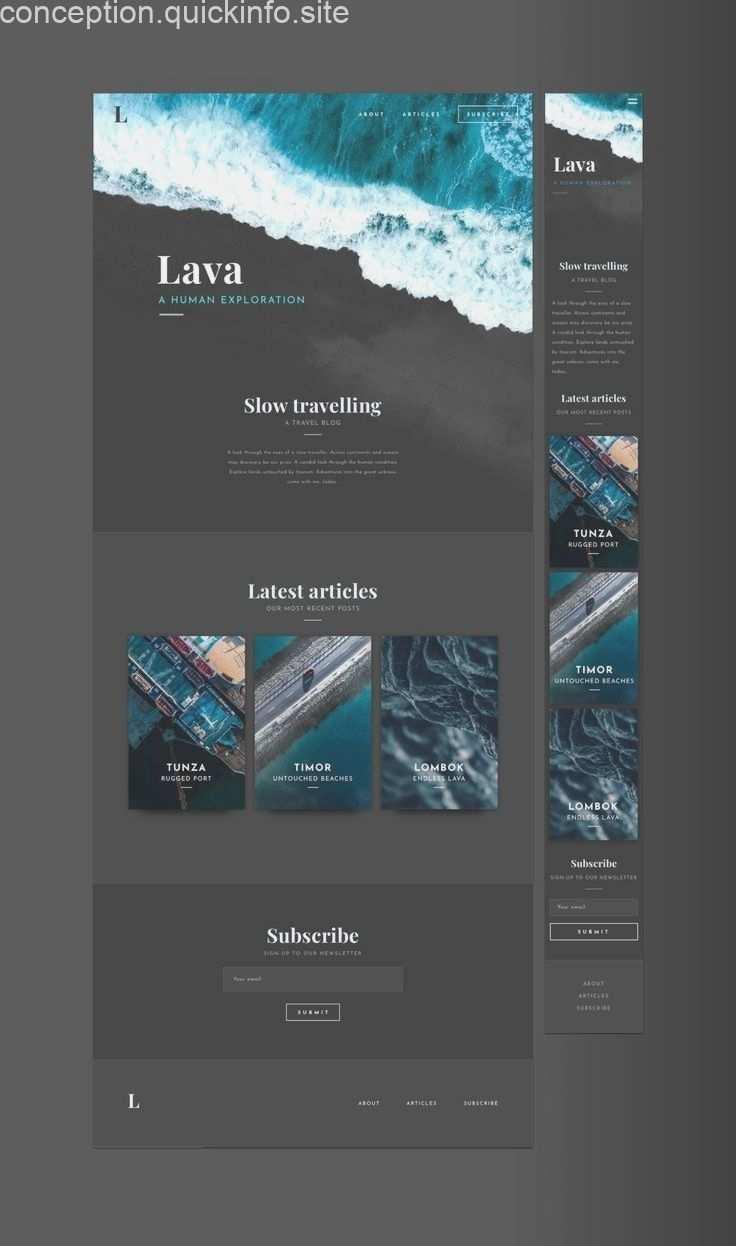 Elegante Blog Vorlage In Skizze Suchen Sie Ein Stilvolles Blog Um Ihre Geschich Design Web App Design Webdesign Angebote