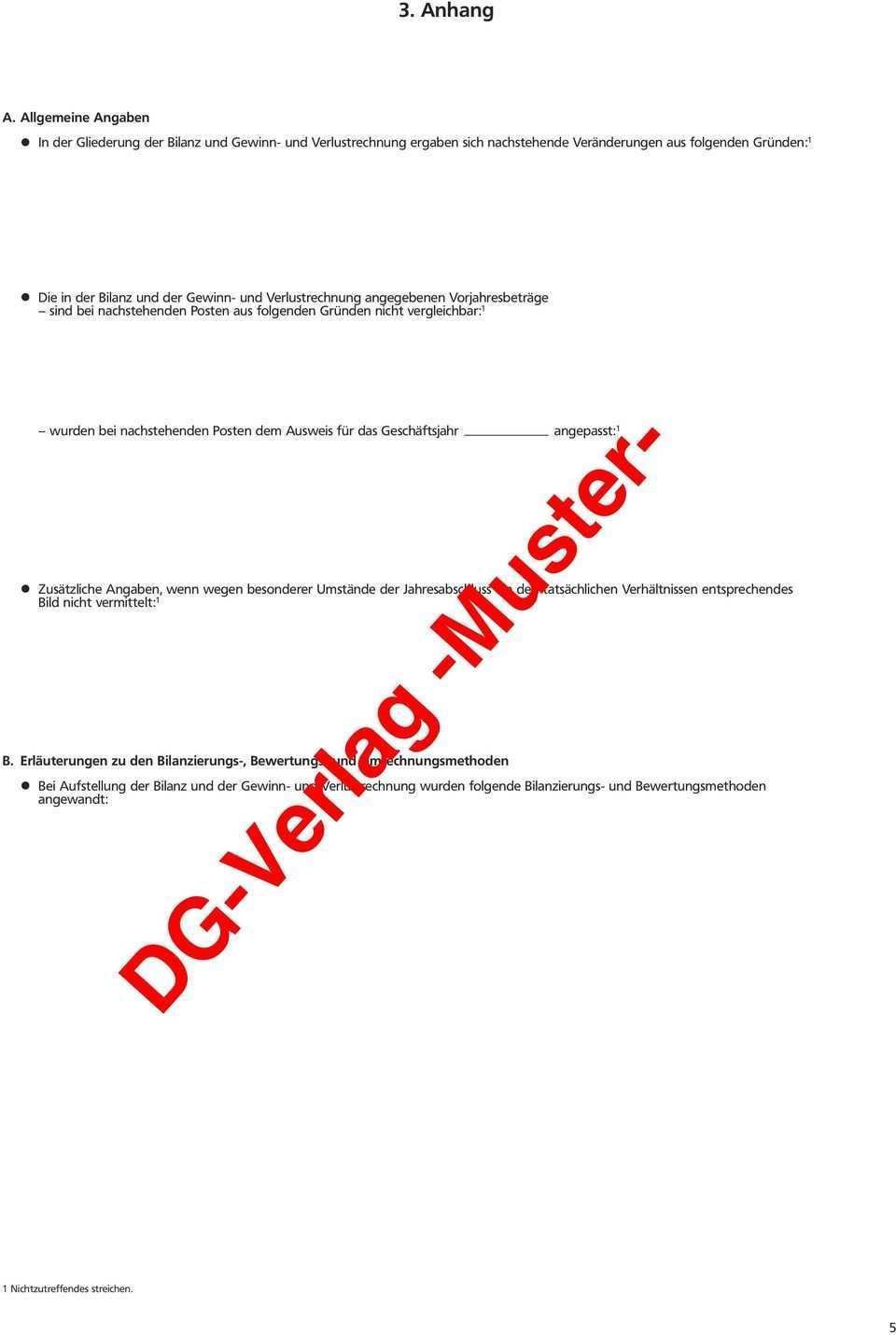 Dg Verlag Muster Jahresabschluss Pdf Kostenfreier Download