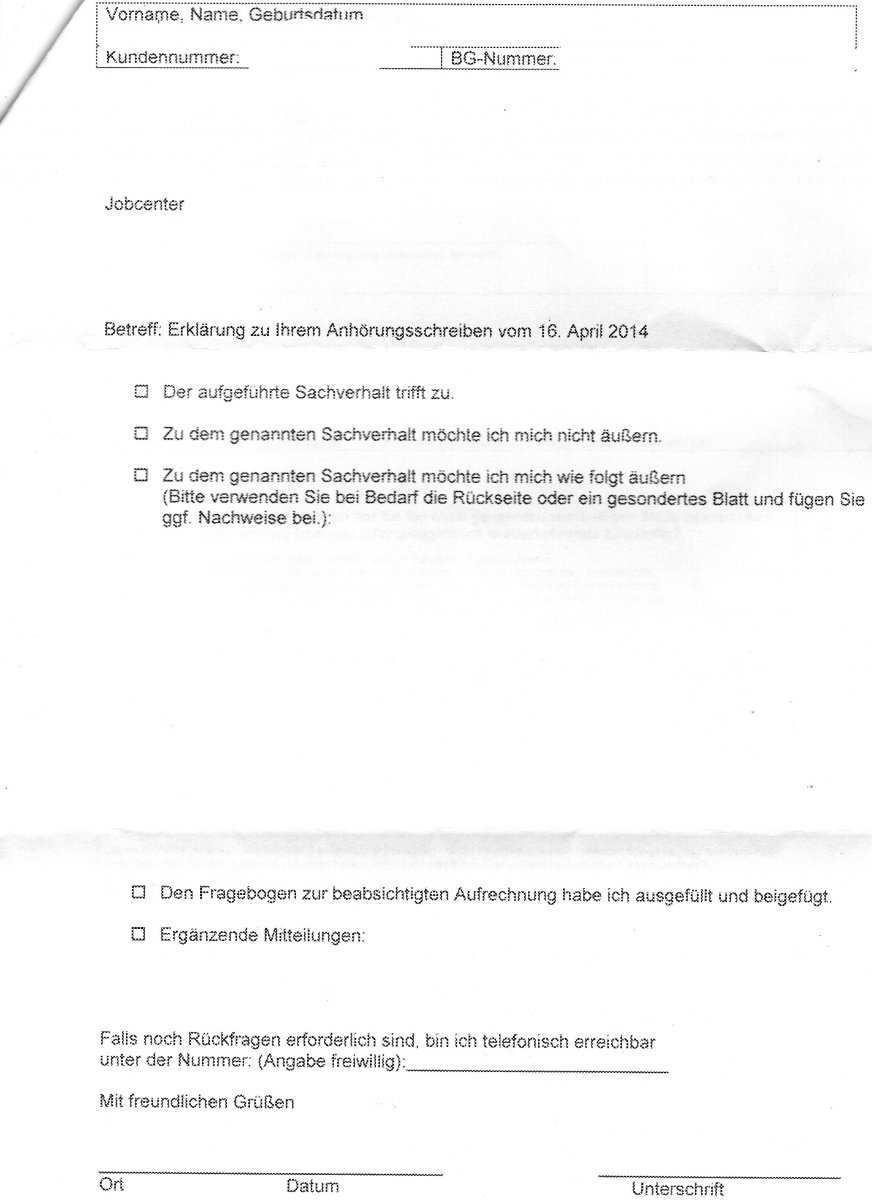 Anhorung Nach 24 Sgb X Uberzahlung Dazu Fragen Erwerbslosenforum Deutschland