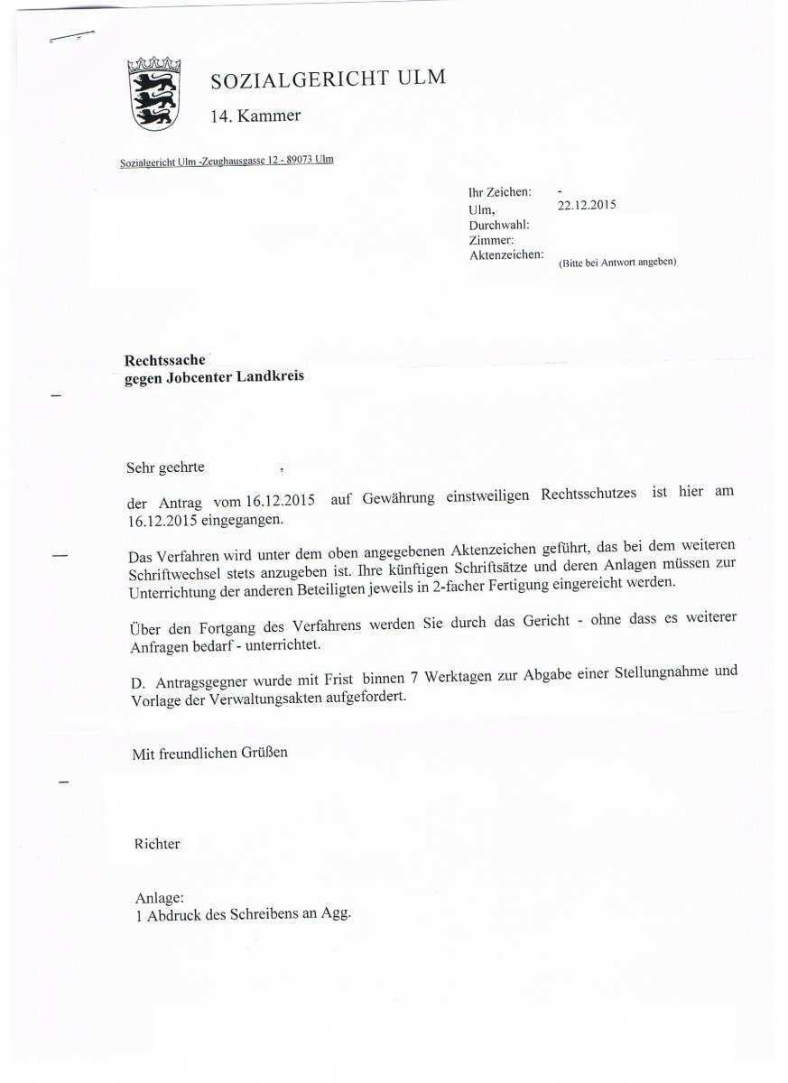 Sanktion Minderung Des Arbeitslosengeldes Massnahme Jobcenter Alg Ii 30 Erwerbslosenforum Deutschland