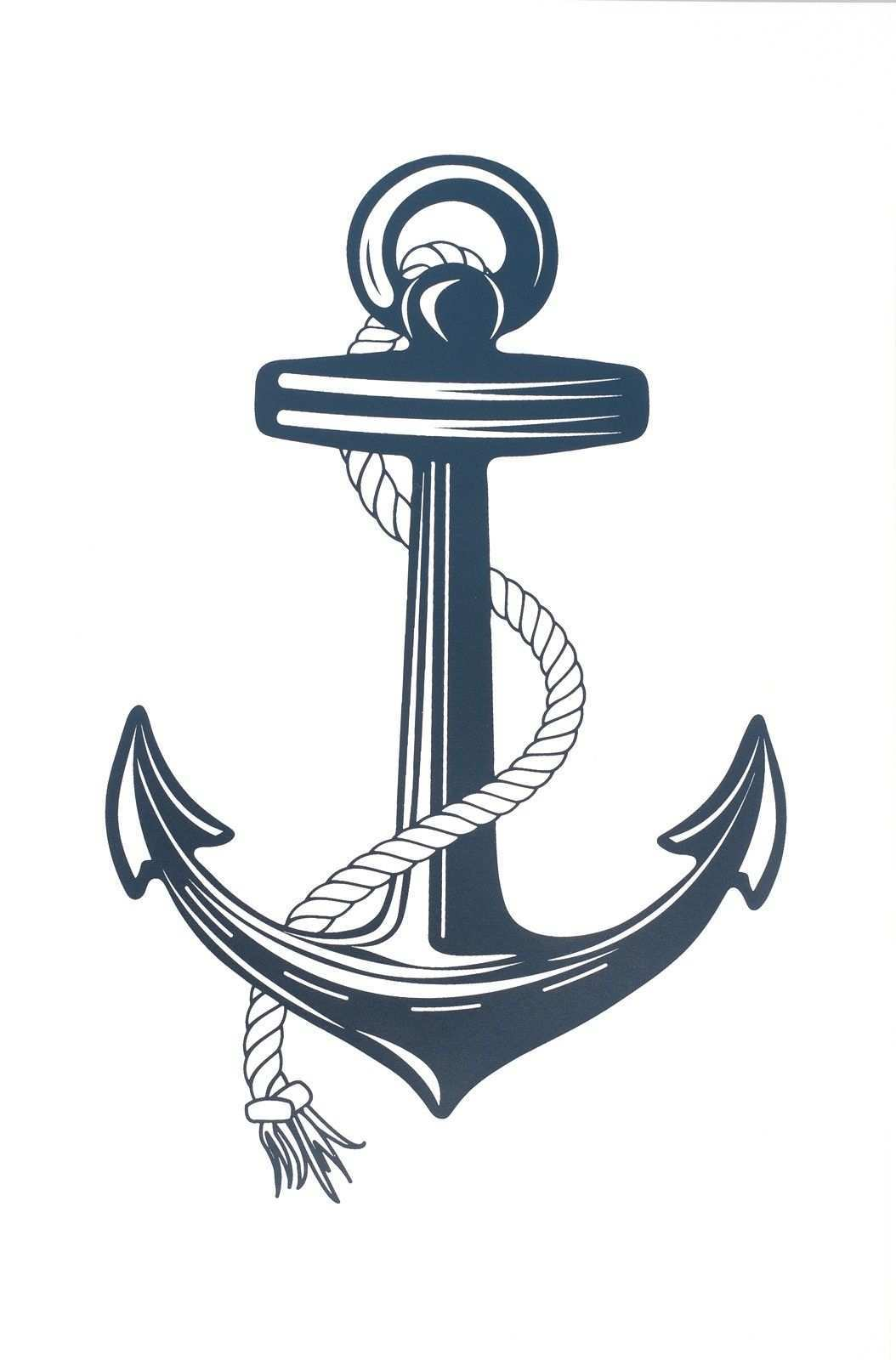 Anchor Print Anker Ausdrucken Zeichnungen