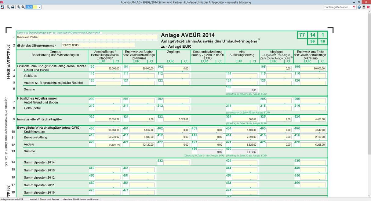 Anlag Anlagenbuchfuhrung Pdf Kostenfreier Download