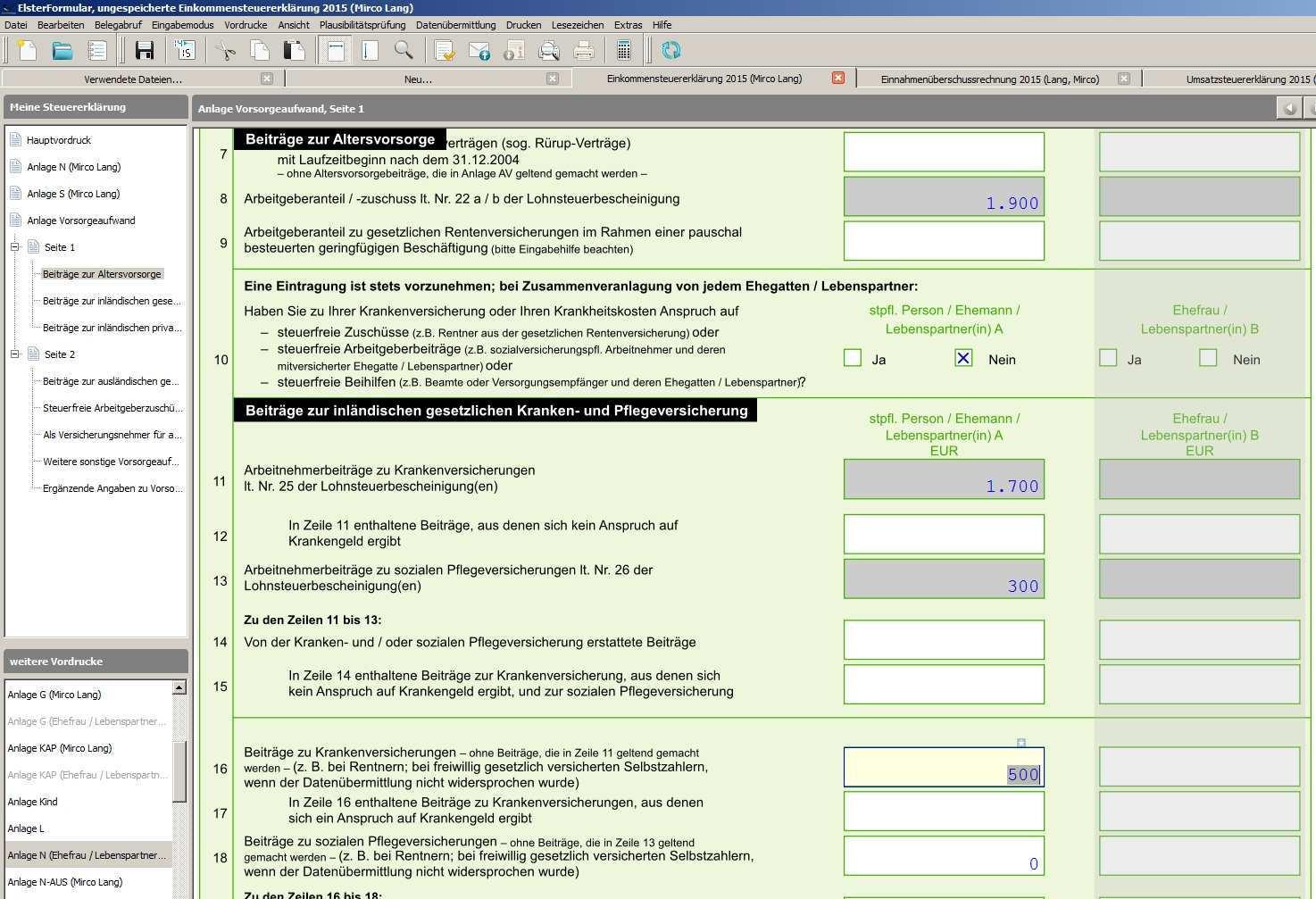 Anleitung Steuererklarung Mit Elster Erstellen Schritt Fur Schritt Beispiel Tutonaut De