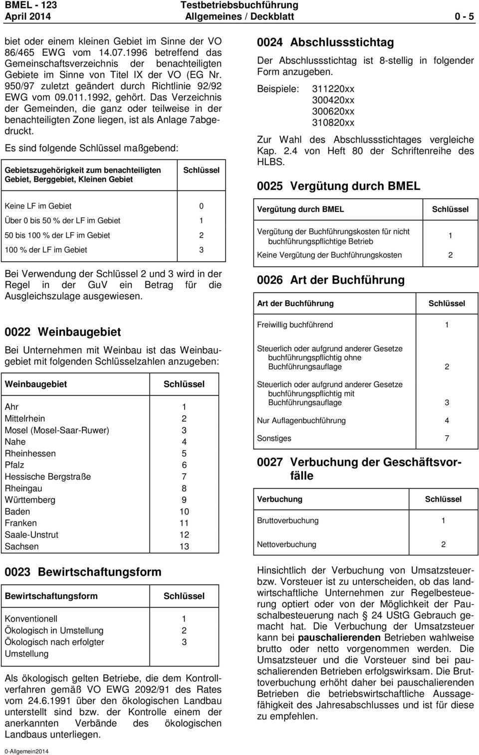 Buchfuhrung Der Testbetriebe Landwirtschaft Einschliesslich Gartenbau Sowie Kleine Hochsee Und Kustenfischerei Pdf Free Download