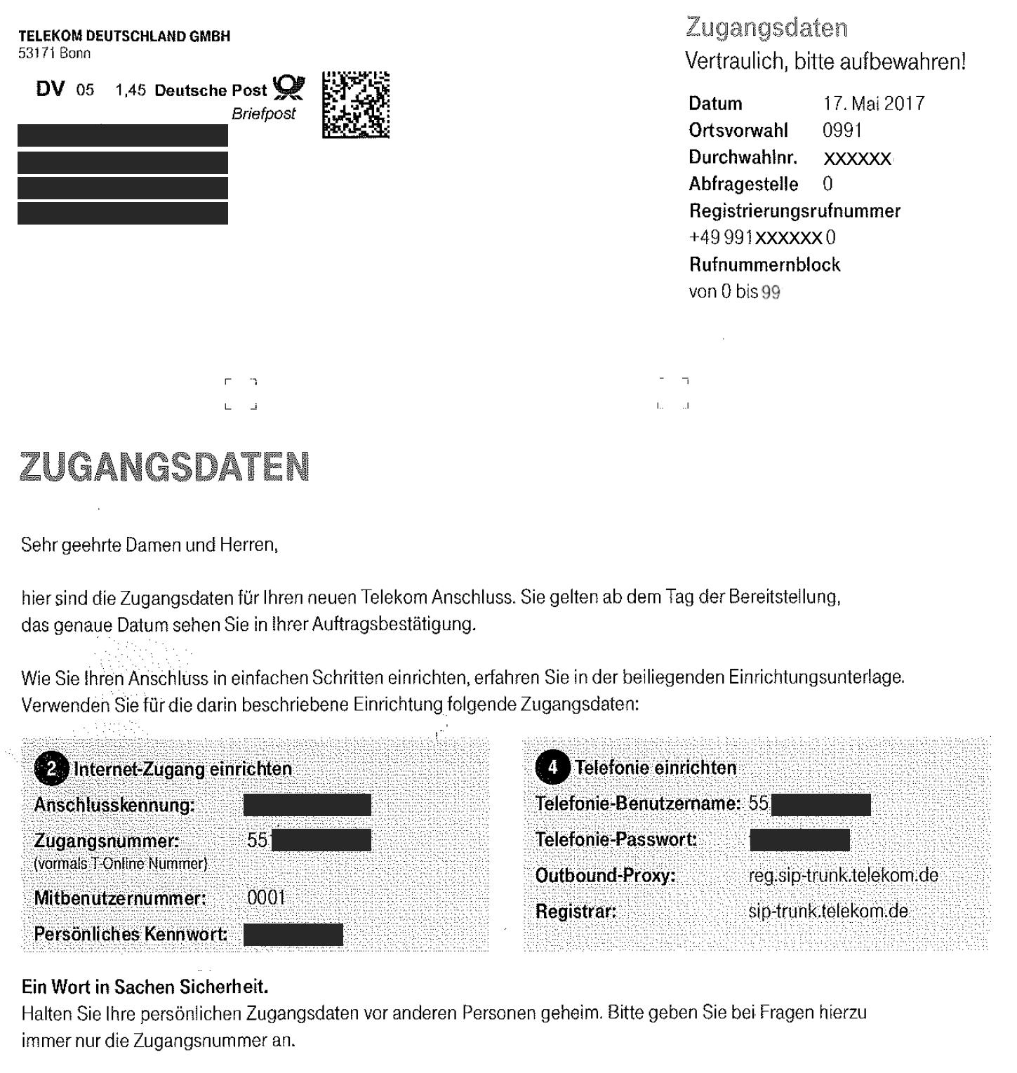 Deutsche Telekom Sip Trunk