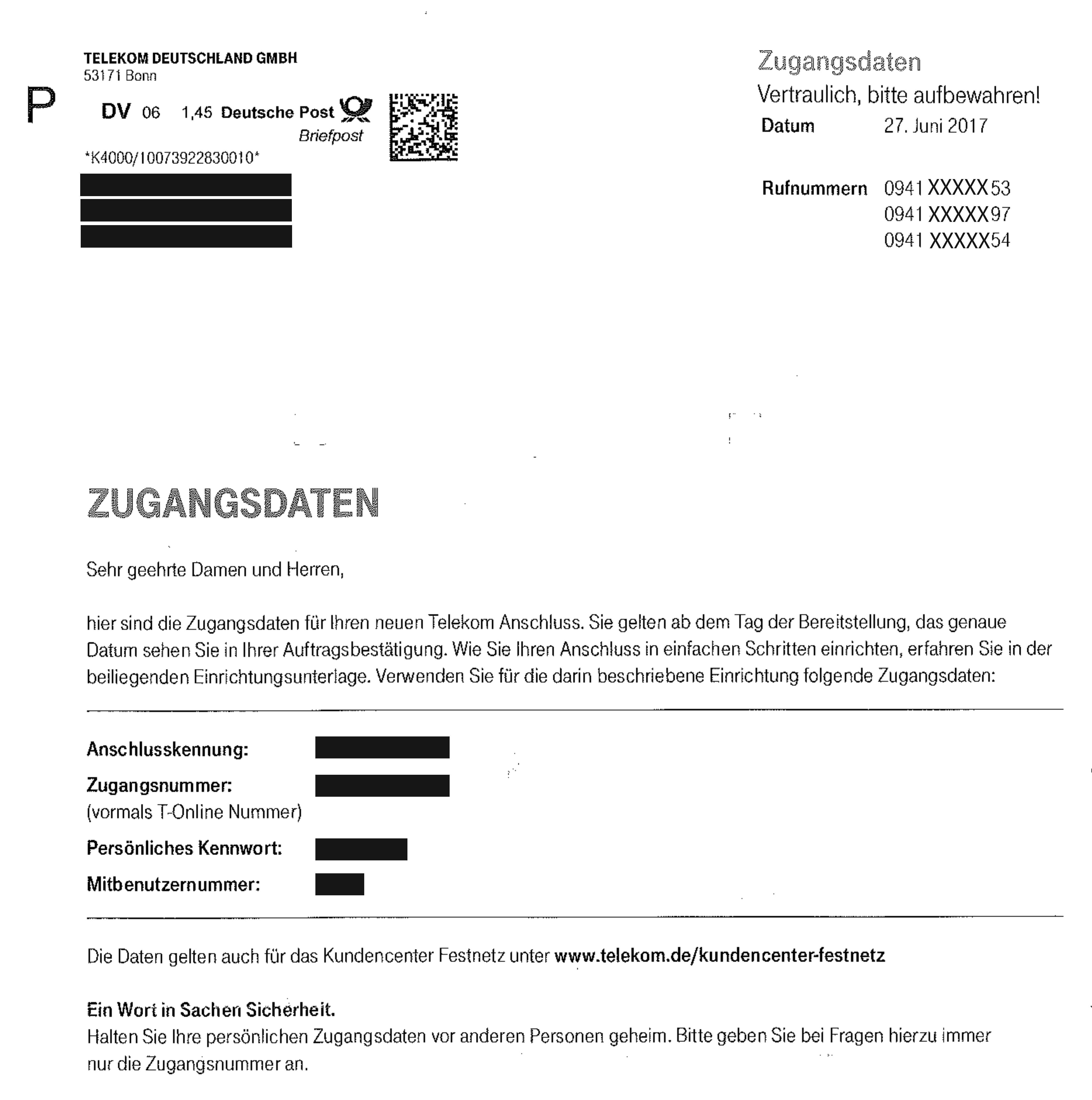 Deutsche Telekom Mehrgerate Anschluss