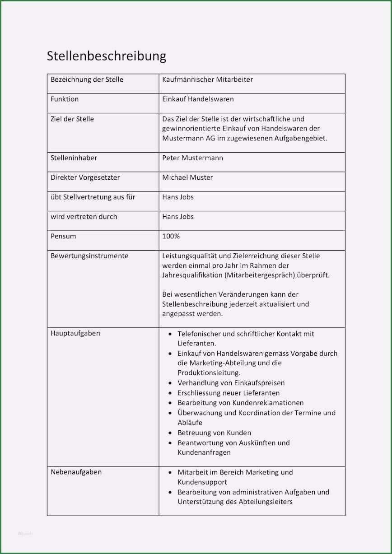 11 Vorschlag Die Ihre Starken Beweisen Stellenbeschreibung Vorlagen Word Vorlagen
