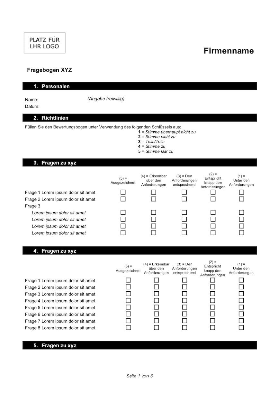 Fragebogen Vorlage Word Vorlagen Word Vorlagen Briefkopf Vorlage