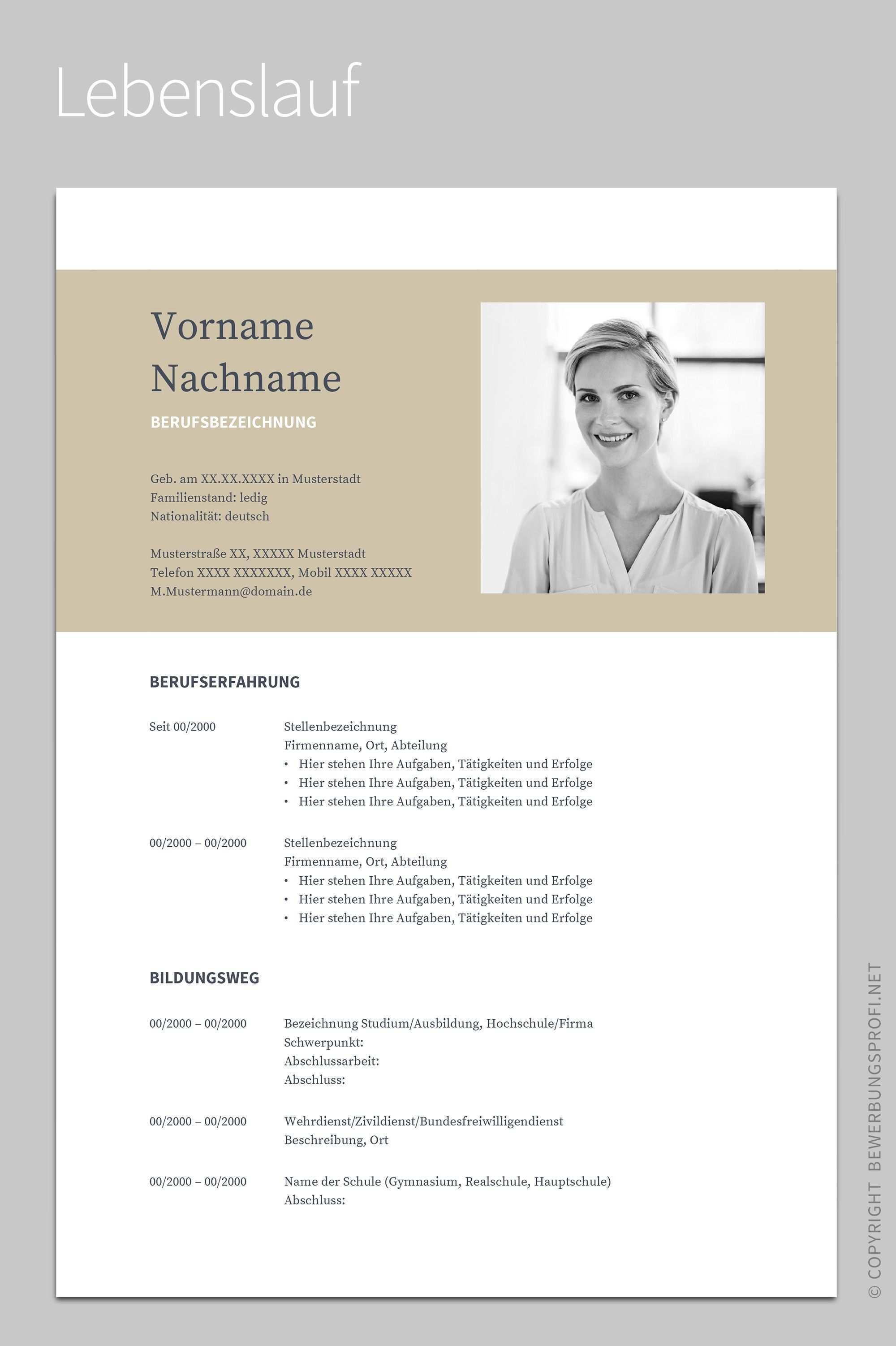 Bewerbung Napea Mit Lebenslauf Deutsch Vorlage Muster Fur Word Openoffice Und Google Docs Bewerbung Layout Lebenslauf Bewerbung Muster