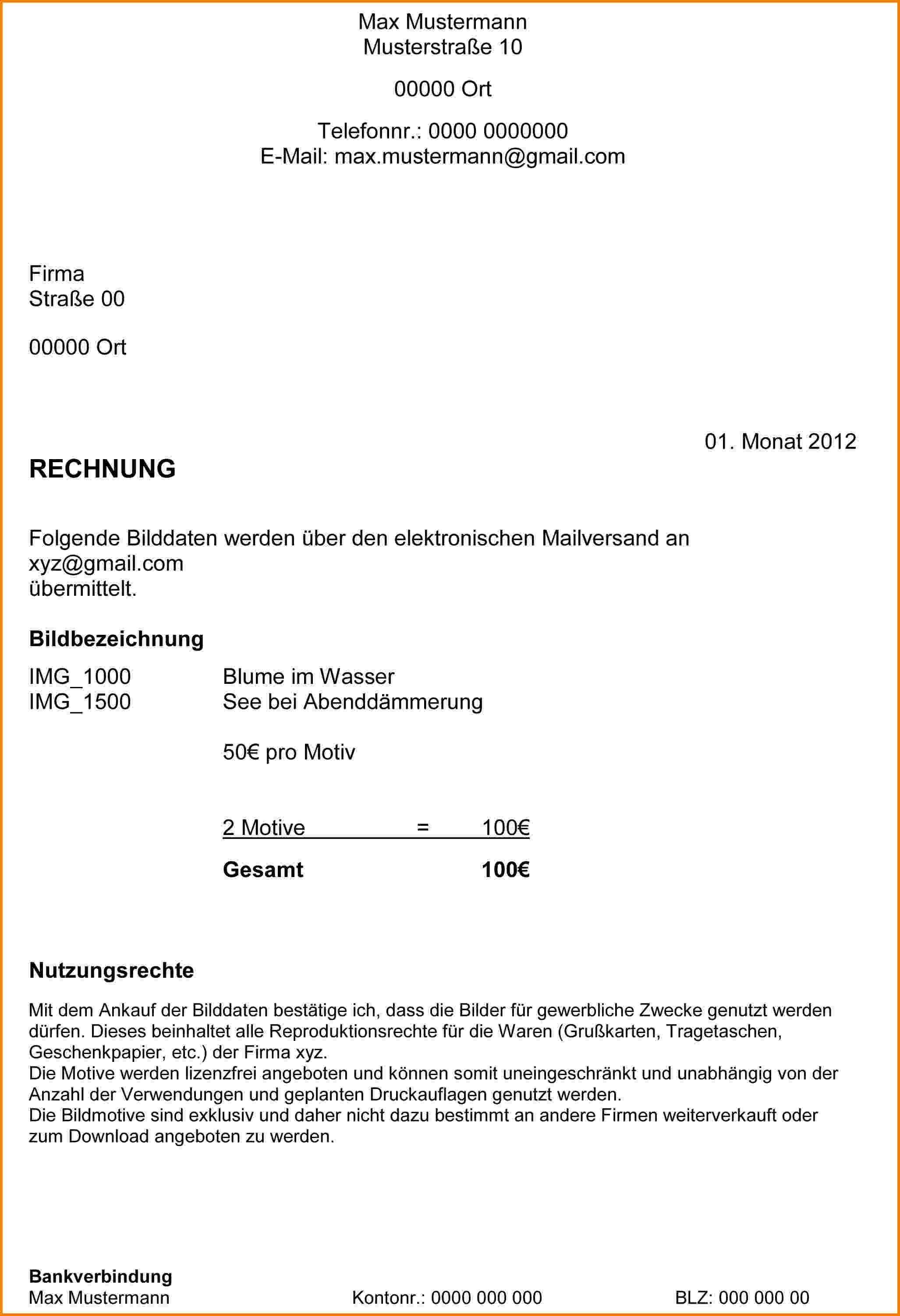 Einzigartig Anschreiben Preiserhohung Stundenlohn Briefprobe Briefformat Briefvorlage Rechnungen Schreiben Privatrechnung Vorlage Rechnung Vorlage