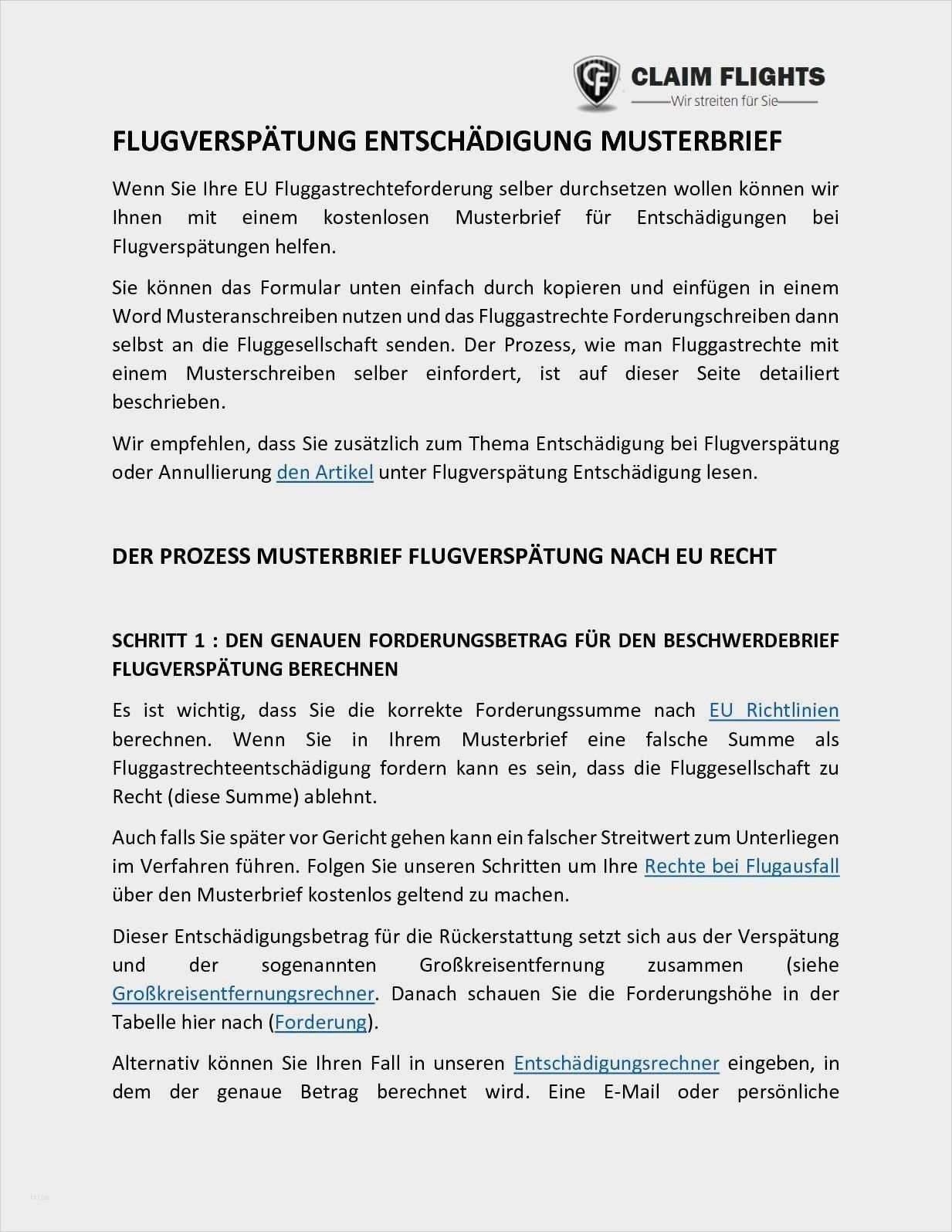 Frisch Musterschreiben Schadensersatz Briefprobe Briefformat Briefvorlage Briefvorlagen Geschaftsbrief Vorlage Vorlagen