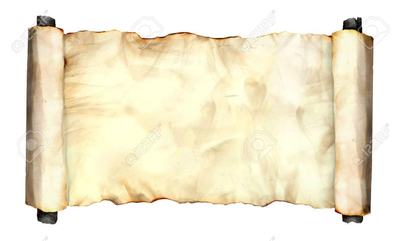 Foto Bild Von Einem Alten Gerollt Seite Papier Blatt Isoliert Auf Weiss Grunge Verbrannt Antike Papier Textur Leere Alte Schatz Karte Vorlage Lizenzfreie Fotos Bilder Und Stock Fotografie Image 65811896