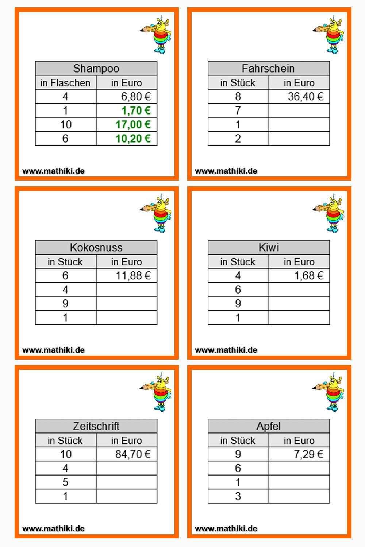 Proportionale Zuordnung Klasse 7 8 Mathiki De Dreisatz Grundwerte Matheaufgaben