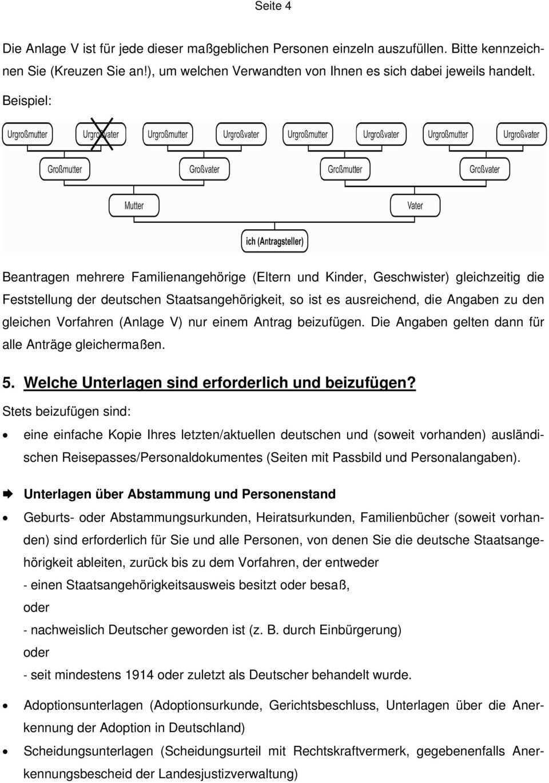 Merkblatt Feststellung Der Deutschen Staatsangehorigkeit Pdf Free Download
