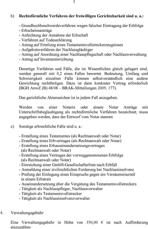 Hinweise Zum Fachanwaltsantrag Fachanwalt Fur Erbrecht Pdf Kostenfreier Download