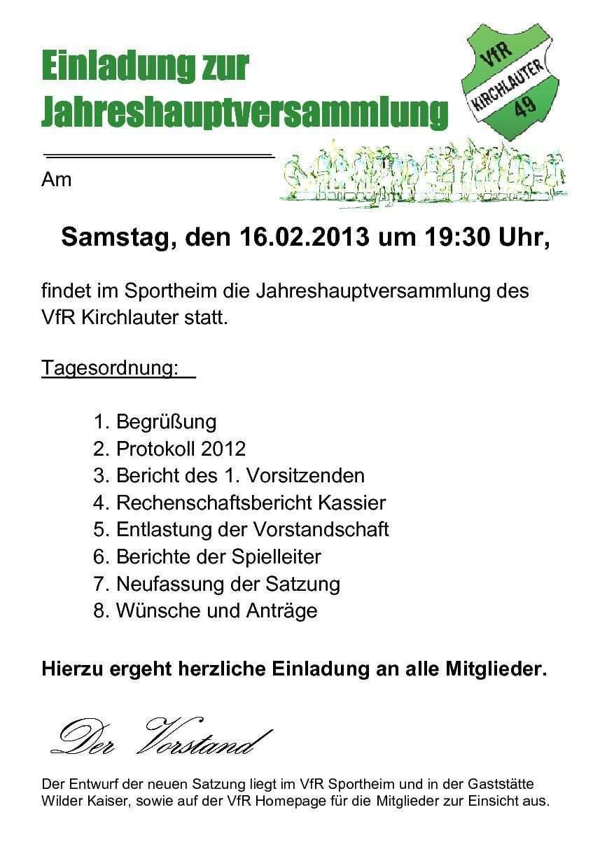 Warenmuster Vorladung Jahreshauptversammlung In 2020 Invitations Car Review Release