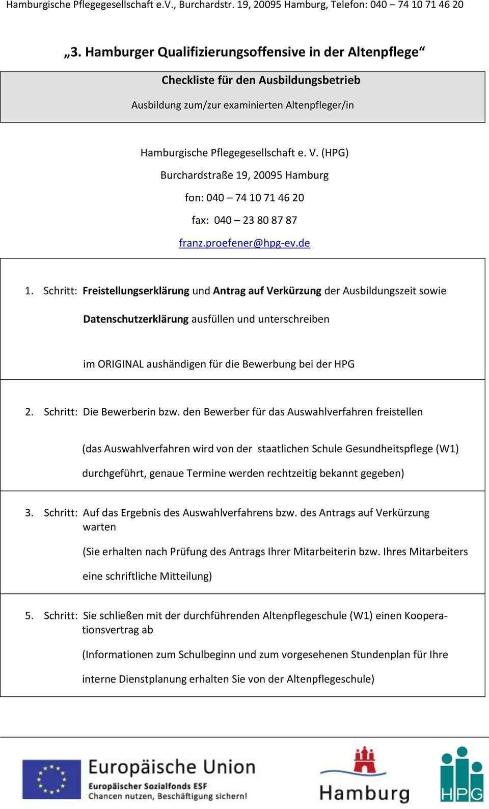3 Hamburger Qualifizierungsoffensive In Der Altenpflege Pdf Free Download