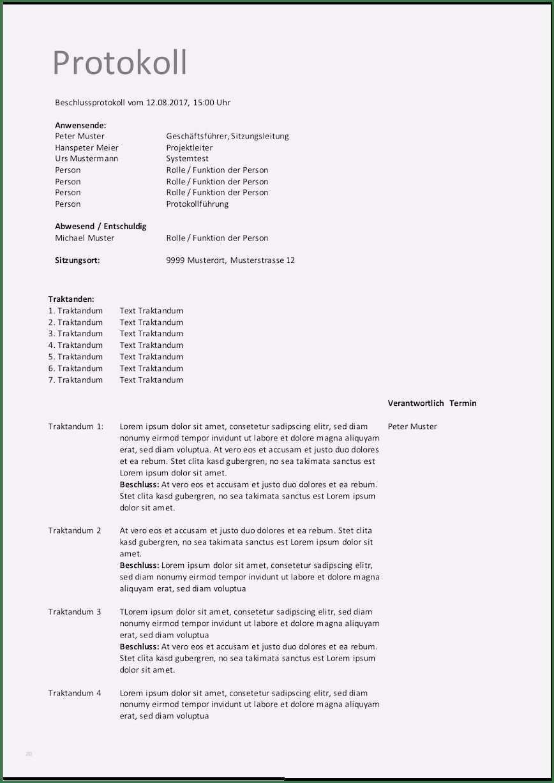 14 Atemberaubend Vereinssitzung Protokoll Vorlage Von 2020 Vorlagen Verein Atem