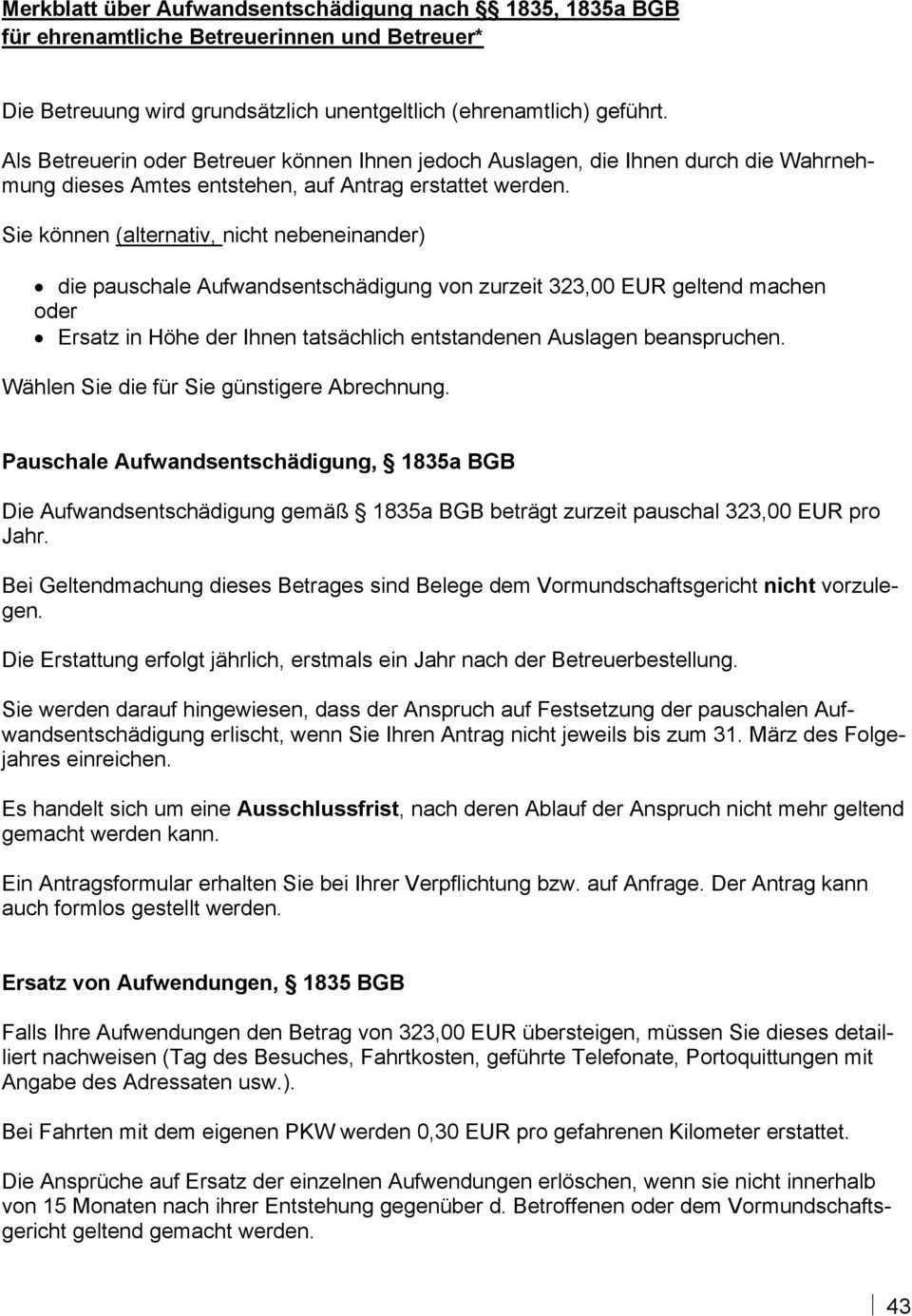 Anhang Musterschreiben Und Merkblatter Pdf Kostenfreier Download